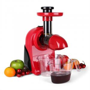 Klarstein Fruitpresso Rosso,150 W,gyümölcsprés,lassú,piros