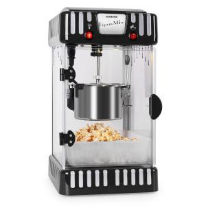 Klarstein Volcano popcorn készítő gép, 300 W, keverő, rozsdamentes acél fazék