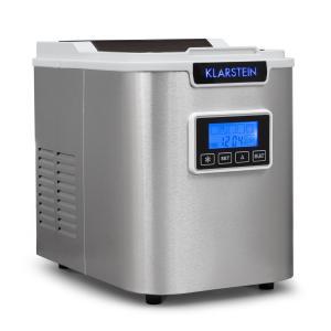 Klarstein ICE6 Icemeister, jégkocka készítő gép, 12 kg/24 óra, rozsdamentes acél, fehér