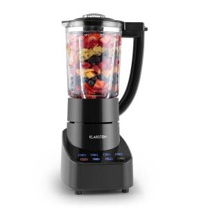 Klarstein Touch & Go asztali mixer, 700 W, 1,5 l, üveg kancsó, érintésvezérelés, fekete