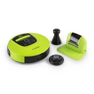 Klarstein Cleanhero, robot porszívó, távvezérlés, zöld