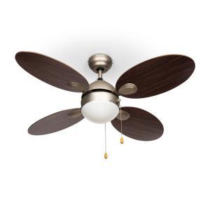Klarstein Valderama, paliszander, mennyezeti ventilátor, 42