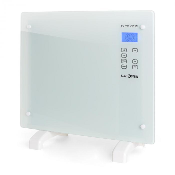 HT006GL konvekciós fűtő, 1000 W, üveg dizájn