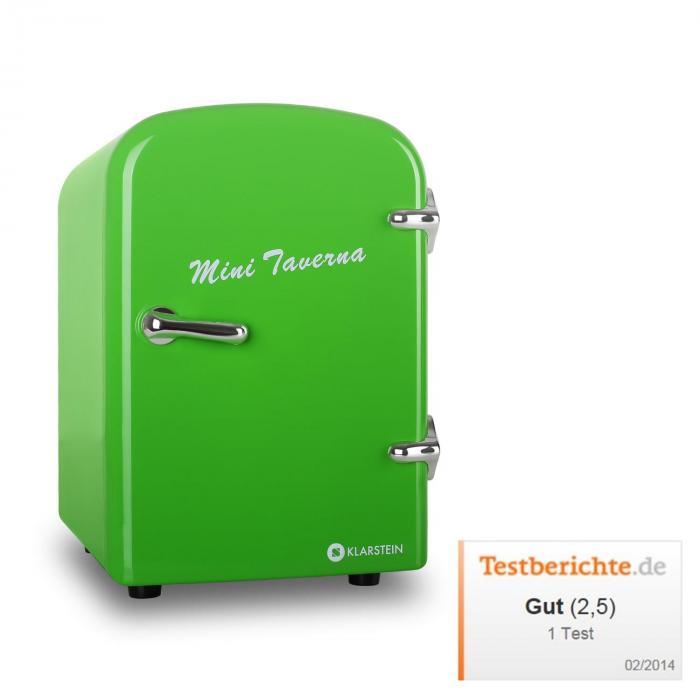 Mini Taverna, hűtőszekrény, 4 l, zöld