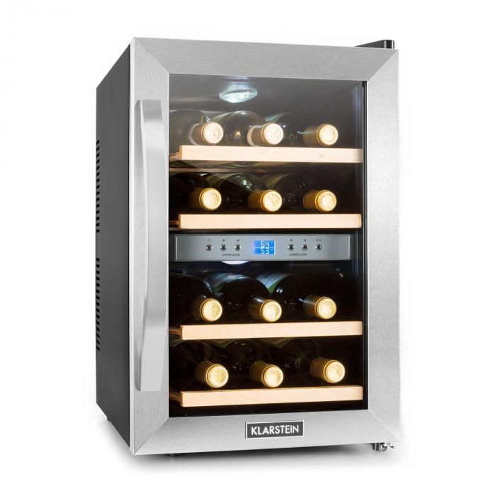 Borhűtő, 34 l, 12 üveg