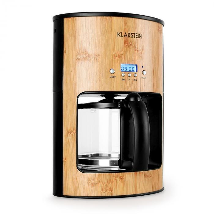 Bamboo Garden kávéfőző, időzítő, 1080 W, 1,25 l