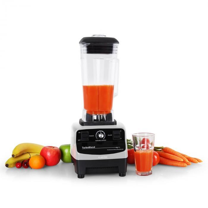 Herakles 3G asztali mixer, 1500 W, 2 liter, zöld smoothie, BPA mentes, fehér