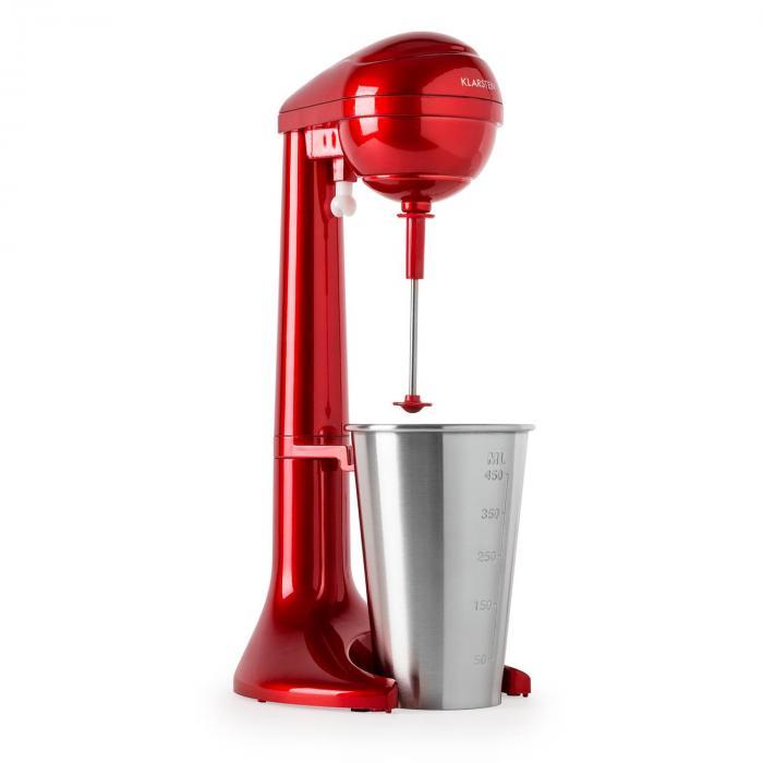 Manhattan mixer italok készítésére, 65 W, 450 ml, 25.000 ford./perc, piros