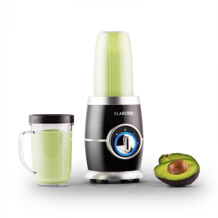 Juicinho Nero, 220 W, asztali mixer, smoothie készítés, 8 részes szett