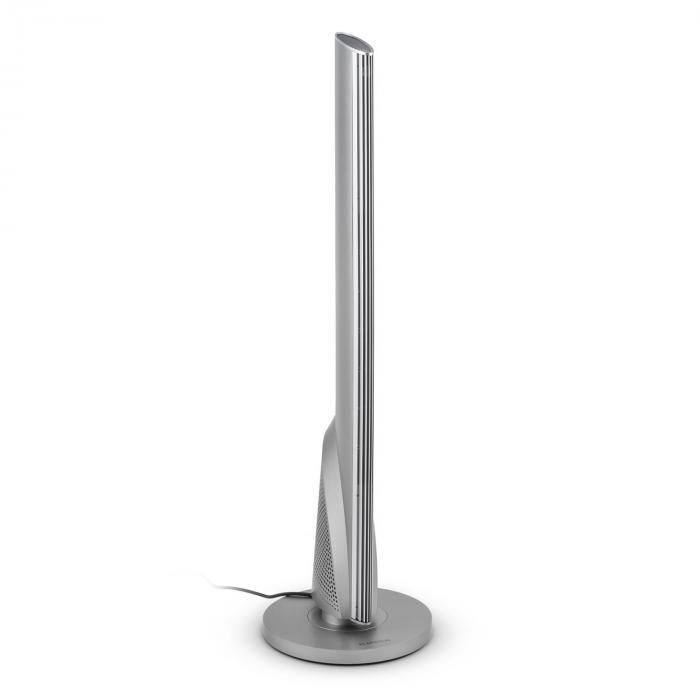 Skyscraper Heat, 1600/2500 W, meleg levegős kerámia toronyventilátor, oszcilláció, időzítő