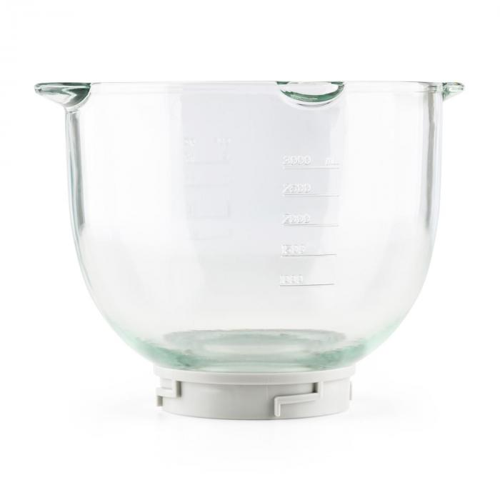 Allegra Bowl, üvegtál, 3 l, kiegészítő, pótlólagos darab, robotgép